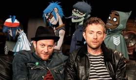 king of the bongo gorillaz