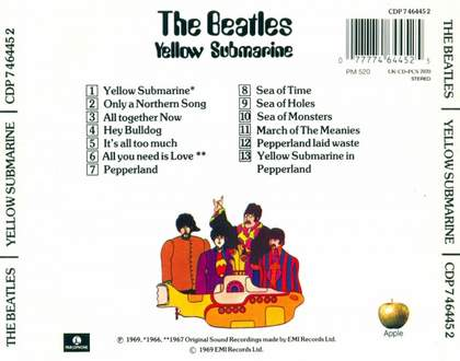 Only A Northern Song (Yellow Submarine) The Beatles
