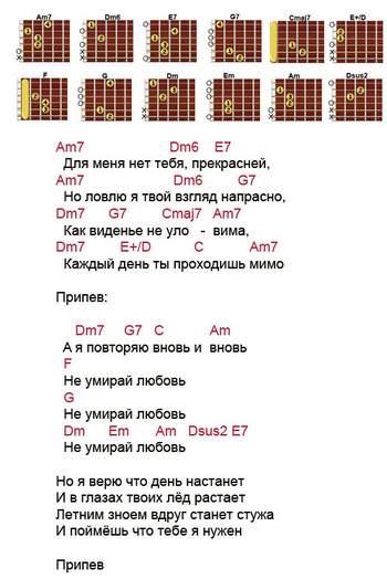 Vseurokimusicru аккорд cm